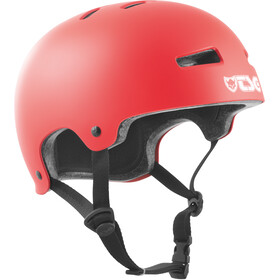 TSG Evolution Solid Color Bike Helmet red